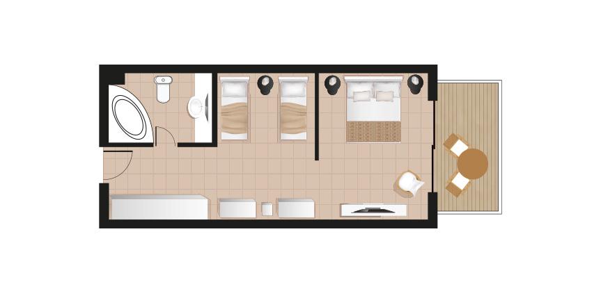 casa-cabana-fields-view-floorplan-in-casa-paradiso-hotel