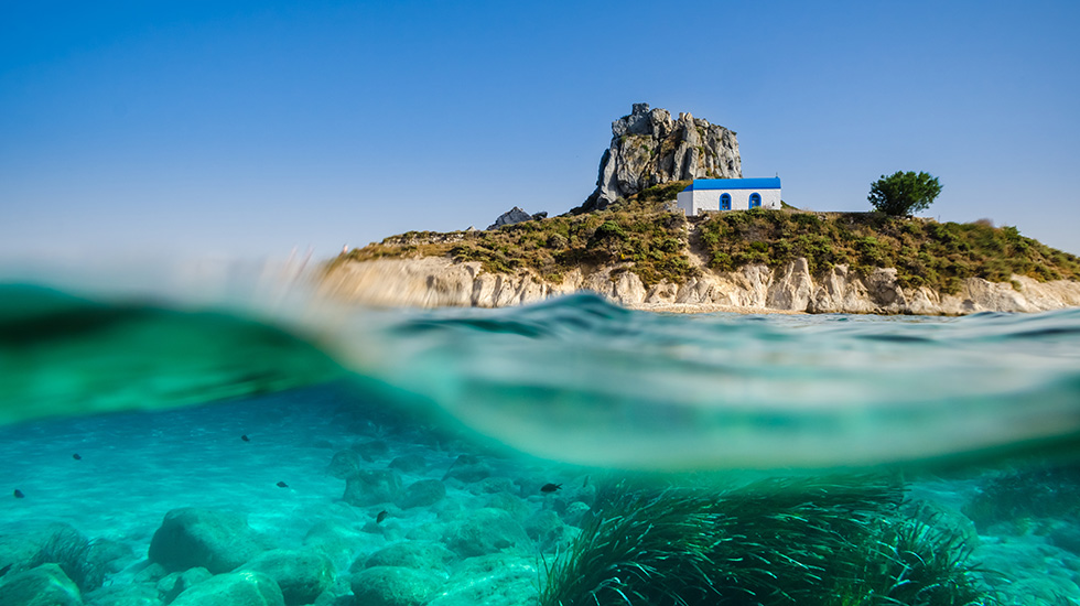 Kos Crystal Blue Waters Beaches